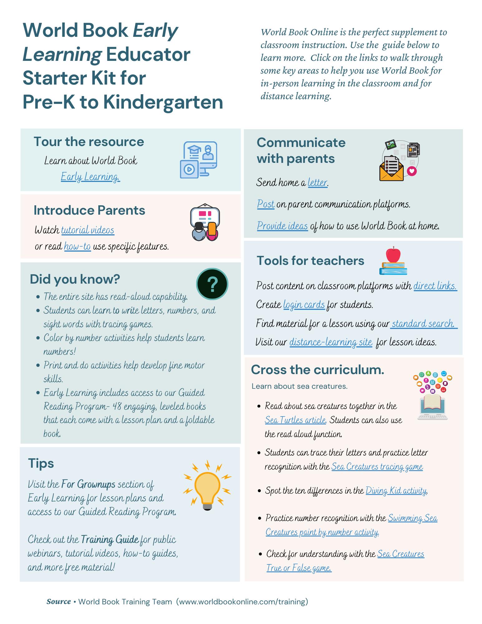 early learning starter kit