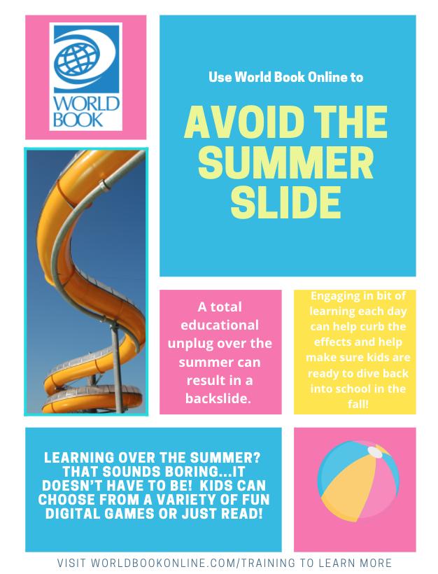 Avoid summer slide general