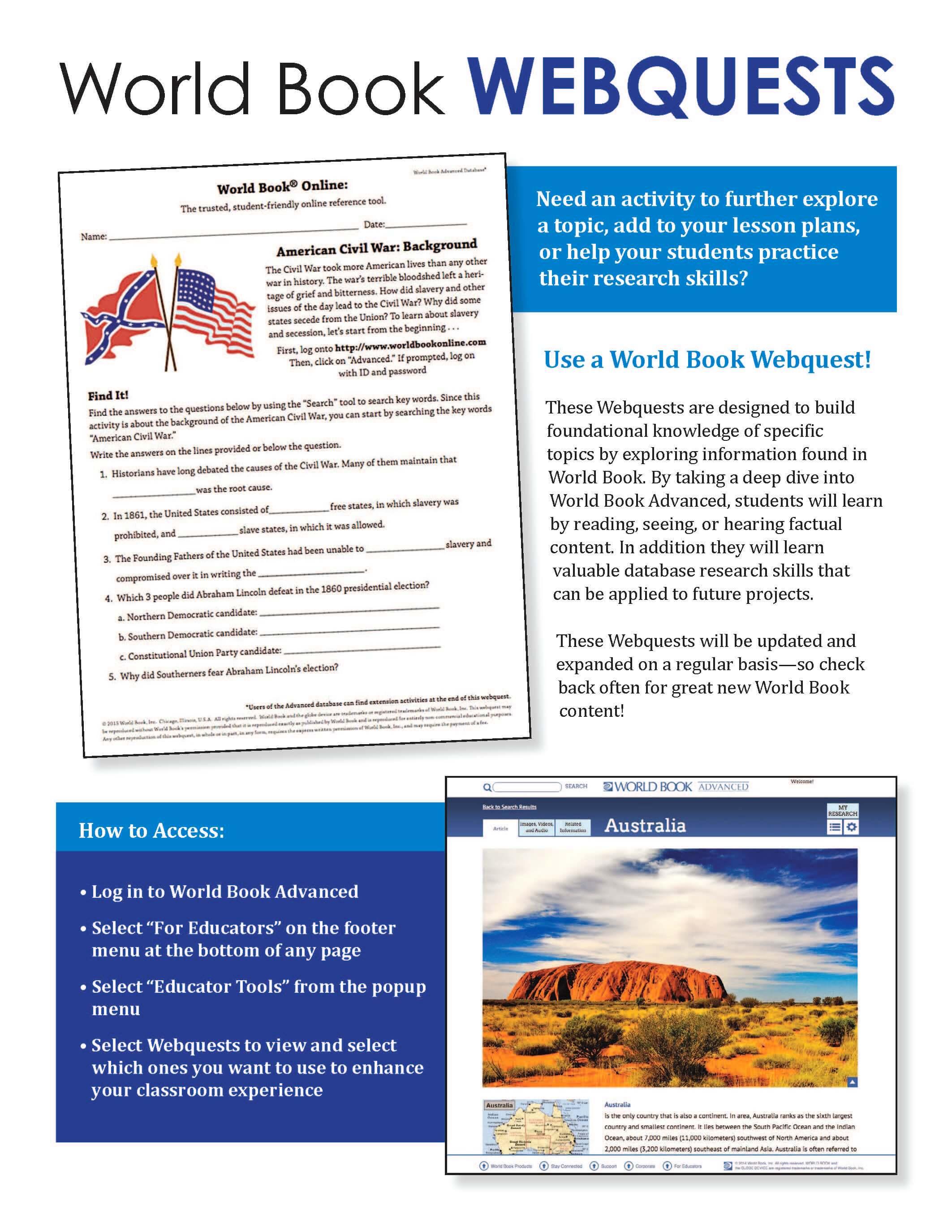 Advanced WebQuest