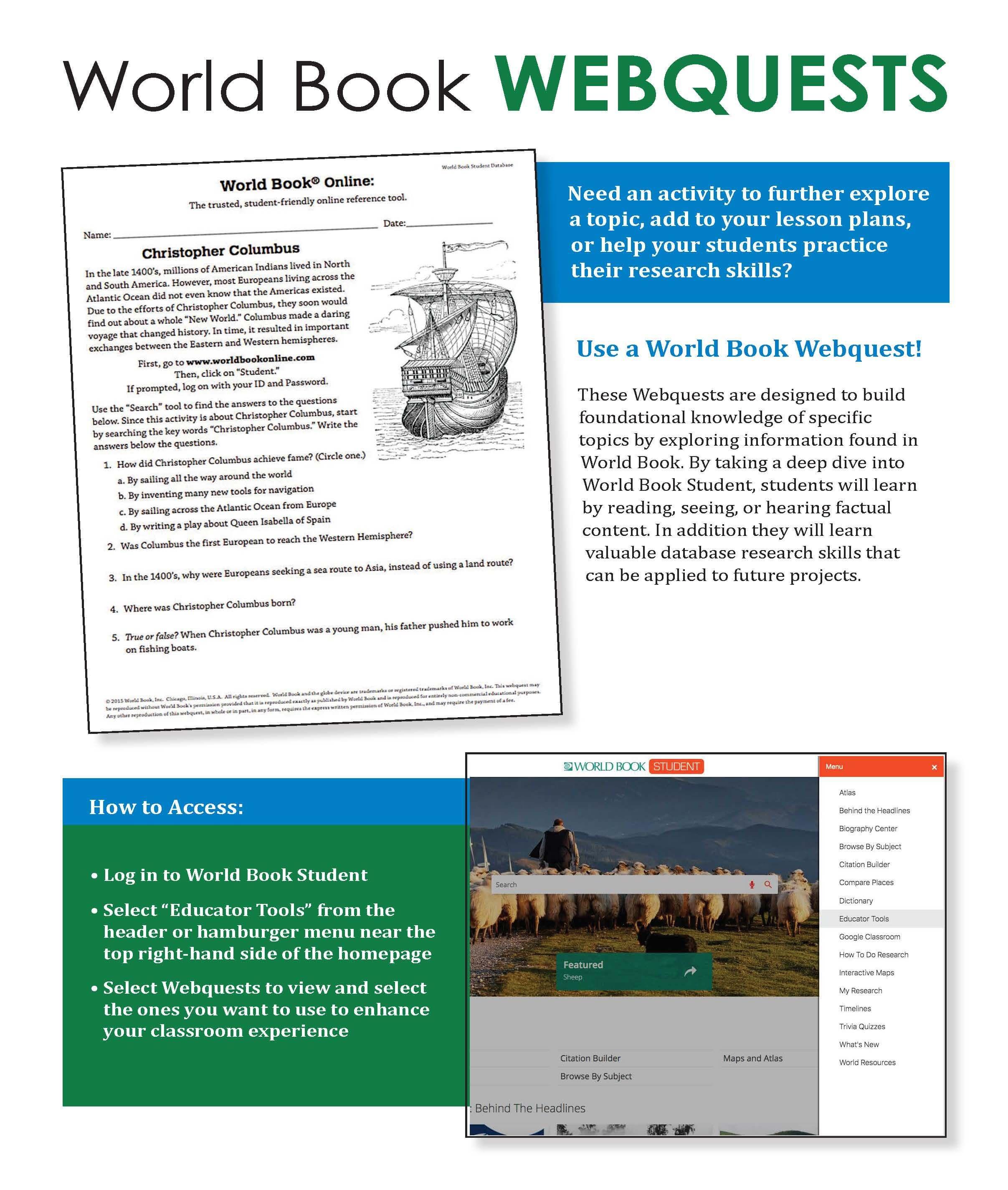 Student WebQuest