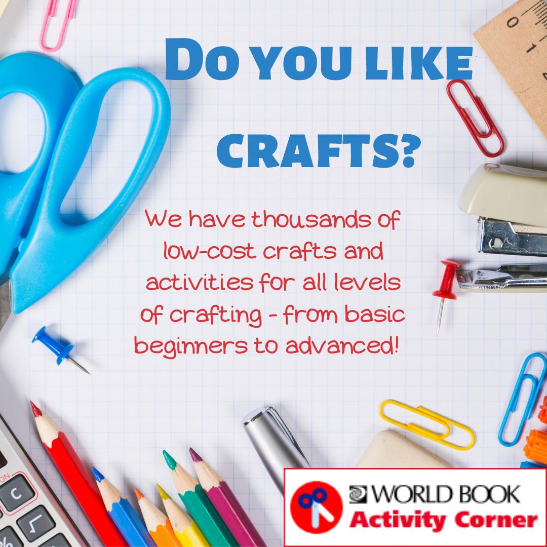 Do you like crafts?