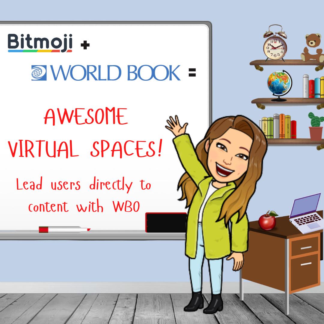 bitmoji virtual spaces