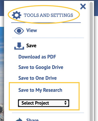 article tools
